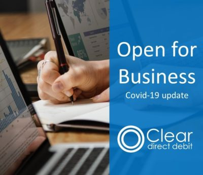 Open for business: Covid-19 update
